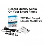 Record better smart phone audio Best Budget Lavalier Mic