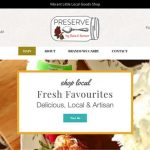 Website Launch Preserve by f&f
